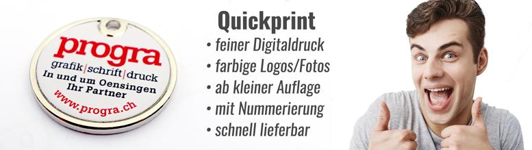 Quickprint Einkaufschips/Jetons aus der Schweiz